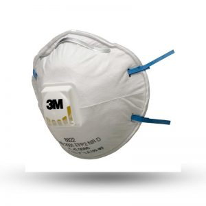 3M DUST MASK WITH VALVE FFP2 (8822)