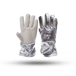 ALUMINIUM HEAT RESISTANT GLOVES 400 DEGREE