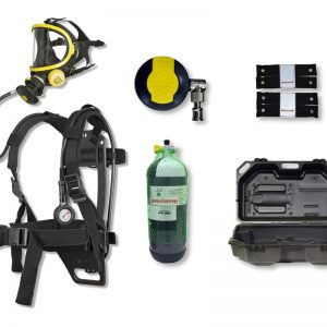 AERIS CONFORT TYPE 2 SX PRO SELF CONTAINED BREATHING APPARATUS DESIGNED FOR FIREFIGHTING AND INDUSTRIES
