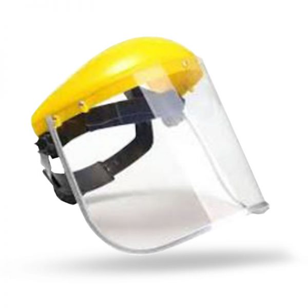 CLEAR VISOR WITH HEAD BAND
