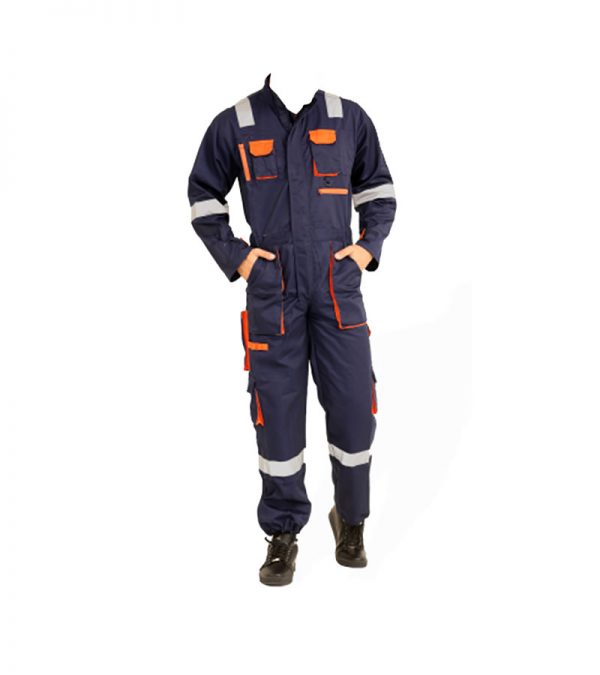 COVERALL COTTON WITH REFLECTOR EUROPEAN STYLE