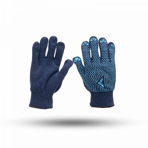 COTTON ONE SIDE DOTTED GLOVES