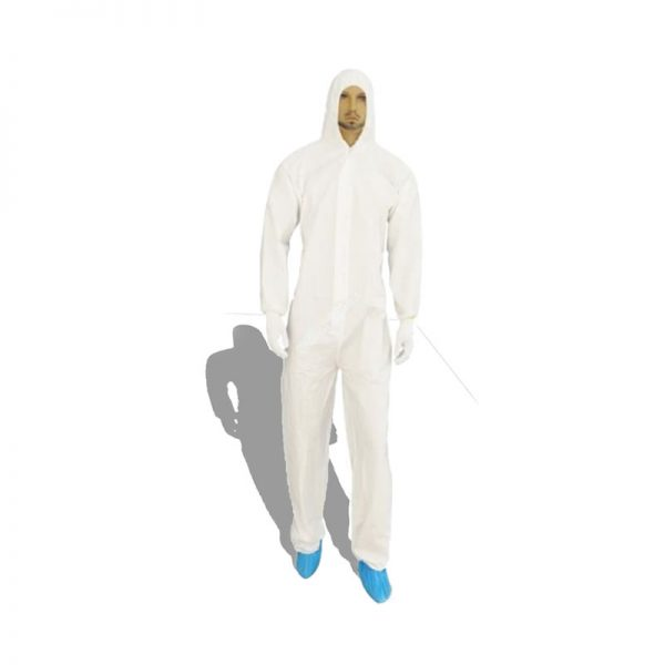 DISPOSABLE COVERALL VAULTEX 60GSM