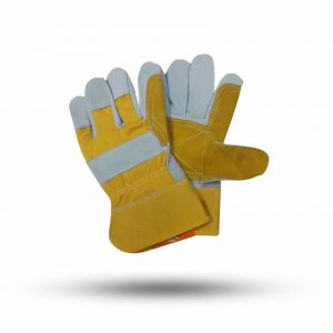 DOUBLE PALM GLOVES SHORT LEATHER