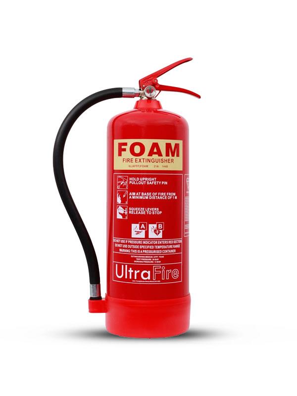 FIRE EXTINGUISHER FOAM