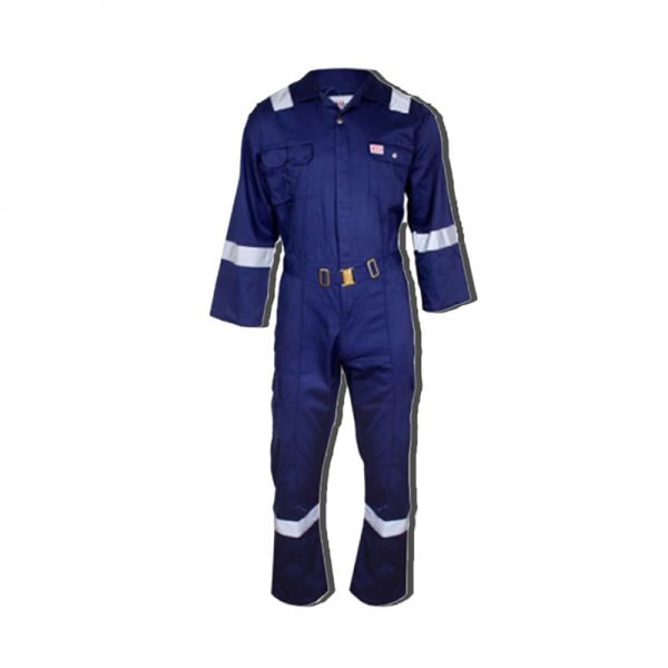 FULL COVERALL TWILL COTTON WITH REFLECTOR