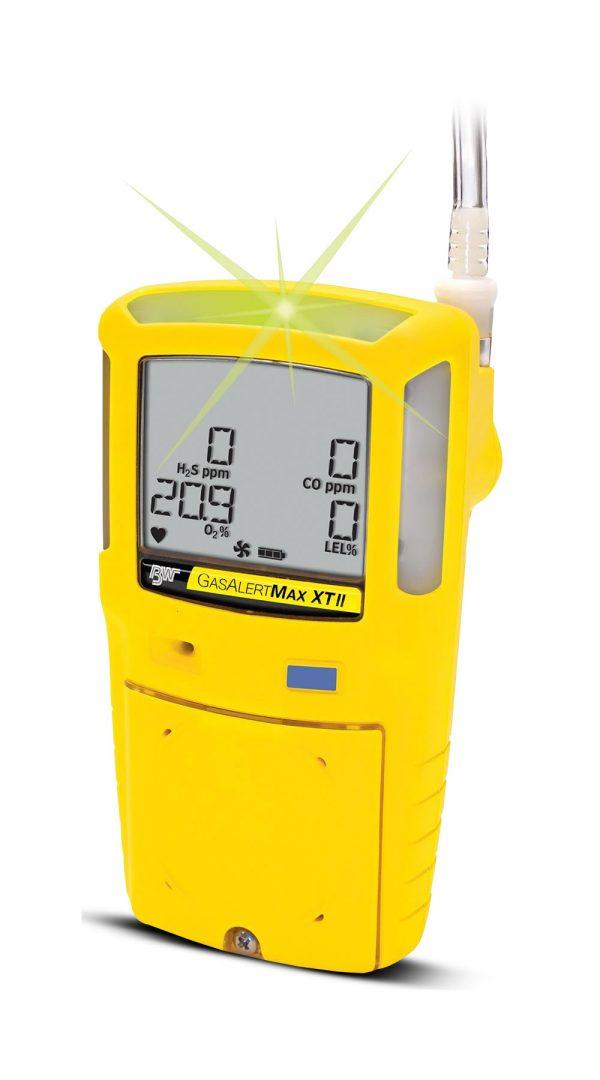 BW GASALERT MAX XT II LEL(F) O2 H2S CO GAS DETECTOR