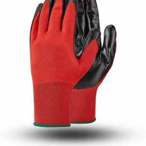 KNITTED GLOVES NITRILE SMOOTH