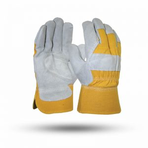 SINGLE PALM GLOVES SHORT LEATHER