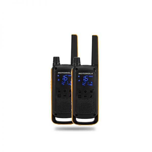 MOTOROLA T82 EXTREME TWIN PACK WALKIE TALKIE
