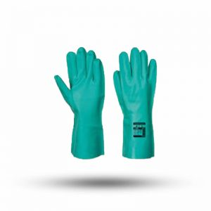 NITRILE GLOVES GREEN RNF