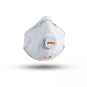 SILV-AIR FFP2 (WITH VALVE) DISPOSABLE DUST MASK UVEX (8732210)