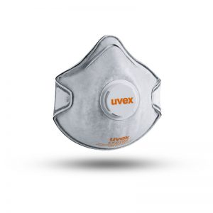 SILV-AIR CLASSIC FFP2 WITH VALVE AND CARBON DISPOSABLE DUST MASK UVEX (8732220)