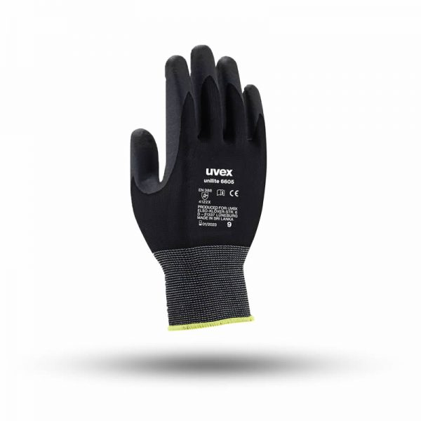 UNILITE 6605 KNITTED WITH NITRILE COATING UVEX