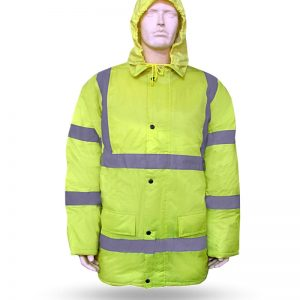 COLD JACKET REFLECTIVE YELLOW